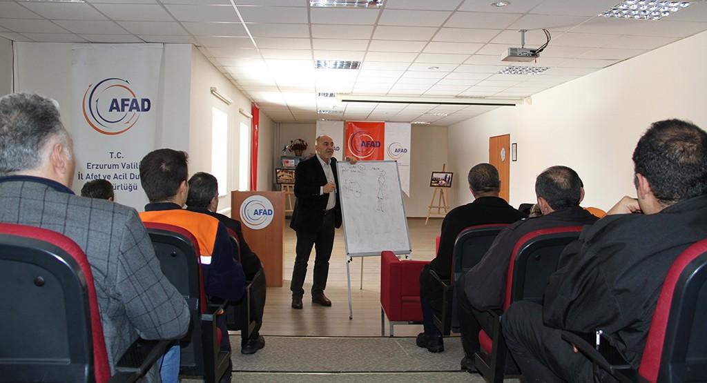 AFAD personeline İngilizce kursu