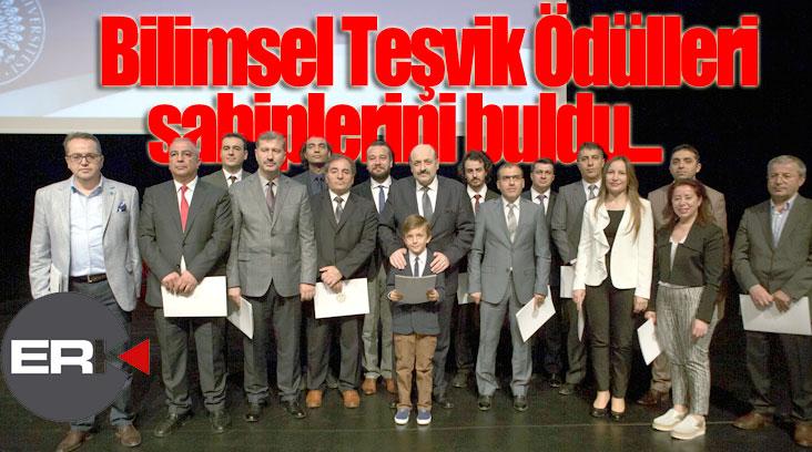 Atatürk Üniversitesi Bilimsel Teşvik Ödülleri sahiplerini buldu...