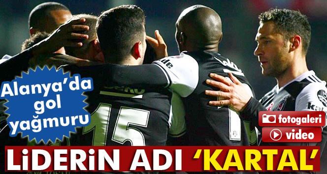 Aytemiz Alanyaspor 1-4 Beşiktaş maçı geniş özet ve golleri izle (Beşiktaş Alanya özet)
