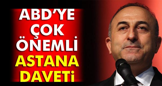 Bakan Çavuşoğlu'ndan flaş ABD ve YPG açıklaması