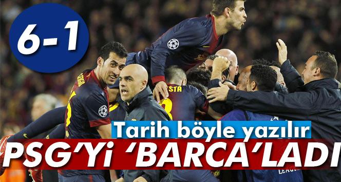 Barcelona 6-1 PSG Şampiyonlar Ligi