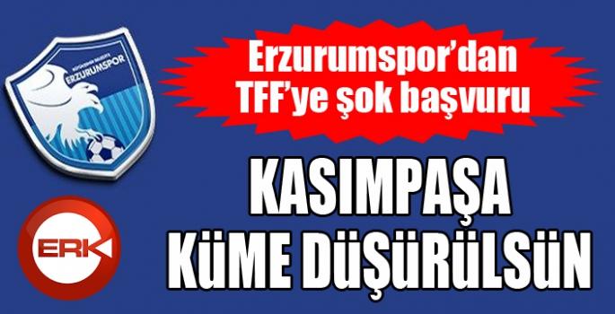 BB Erzurumspor'dan TFF'ye futbol gündemini sarsacak müracaat