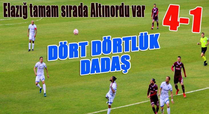 BB Erzurumspor, Elazığ engelini 4 golle aştı...