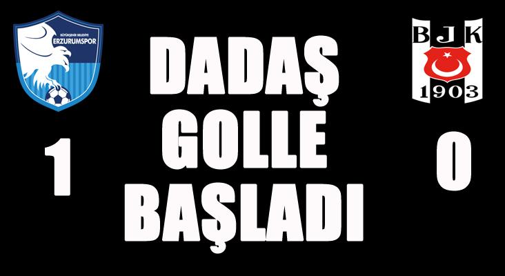 BB Erzurumspor-1 Beşiktaş-0