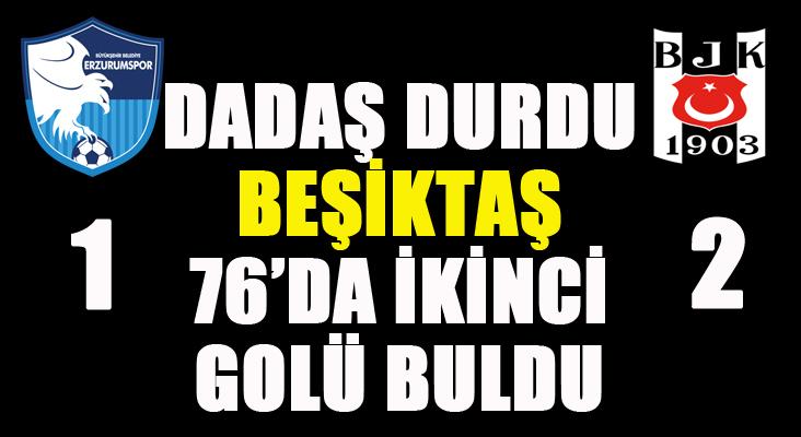 Beşiktaş Negredo'yla öne geçti...