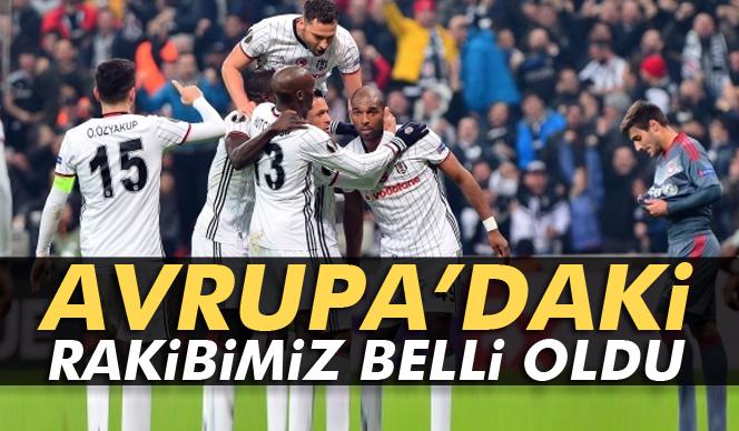 Beşiktaş'ın UEFA Avrupa Ligi'ndeki rakibi Lyon oldu