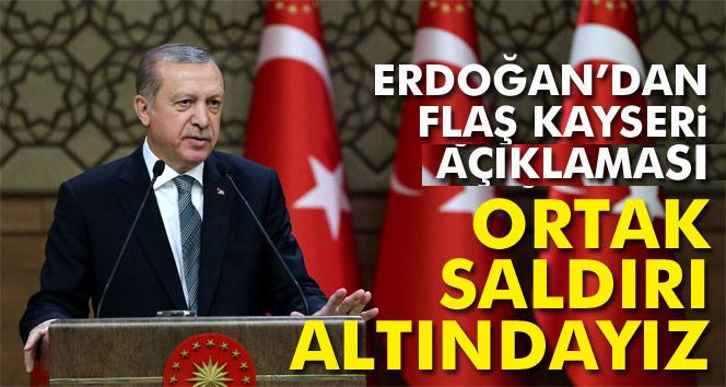 Cumhurbaşkanı Erdoğan'dan Kayseri'deki hain terör saldırısına ilişkin açıklama