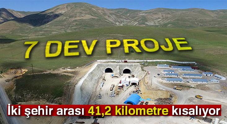 Doğu Anadolu'da karayolu ulaşımında 7 dev proje