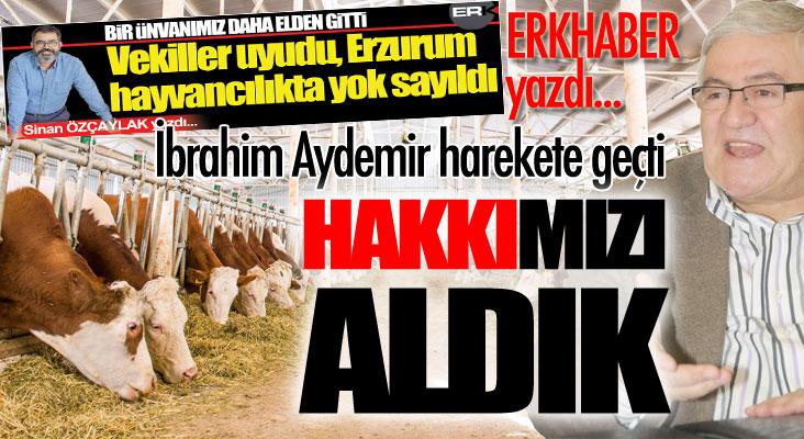 ERKHABER yazdı, Aydemir harekete geçti ve HAKKImızı aldık!