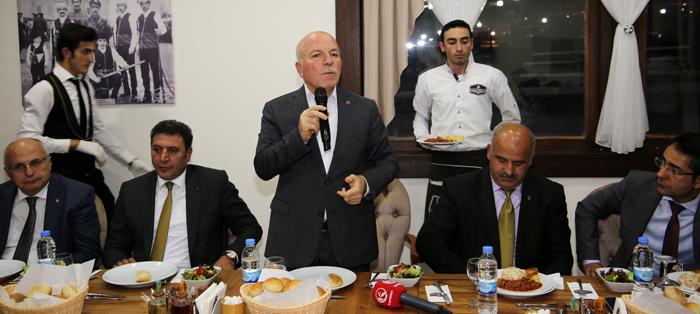 Erzurum Büyükşehir Belediyesi'nden ilçelere yatırım turu