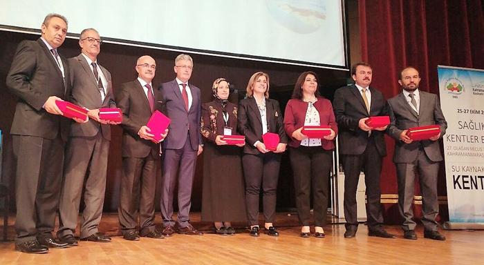 Erzurum Büyükşehir Belediyesi'ne 'Sağlıklı Şehir Planlaması' ödülü