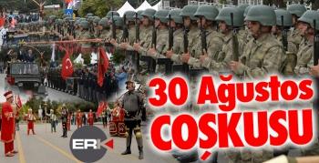 Erzurum'da 30 Ağustos coşkusu