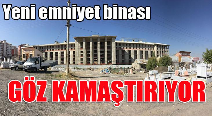 Erzurum Emniyeti'ne külliye gibi kampüs