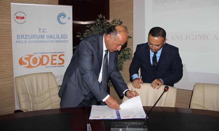 Erzurum Valiliği tarafından bakanlığa sunulan 54 SODES projesinden 16'sı onaylandı