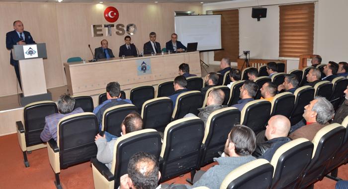 """ETSO Meclis Başkanı Saim Özakalın; """"Teşvikler tek merkezden olmalı"""""""
