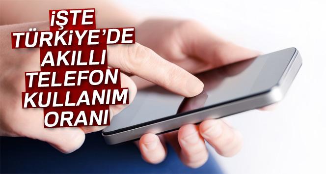 İşte Türkiye'de akıllı telefon kullanım oranı
