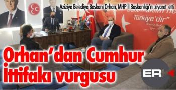 Başkan Orhan'dan Cumhur İttifakı vurgusu