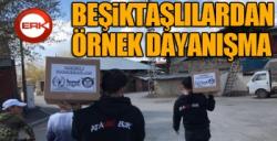 Beşiktaşlılardan örnek dayanışma