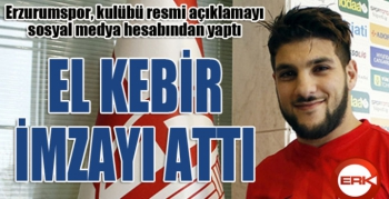 El Kebir Erzurumspor'da