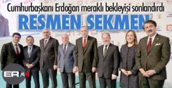 Erdoğan açıkladı: Büyükşehir Belediye Başkan adayı Mehmet Sekmen