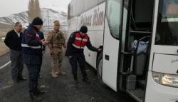 Horasan 15. Jandarma Trafik Timi drone ile uygulamaya geçti