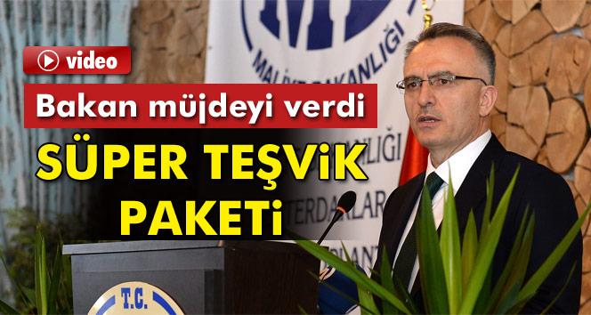 Maliye Bakanı Ağbal: Teşvik Belgesi aldığınız zaman 10 yıl süre ile vergi almayacağız