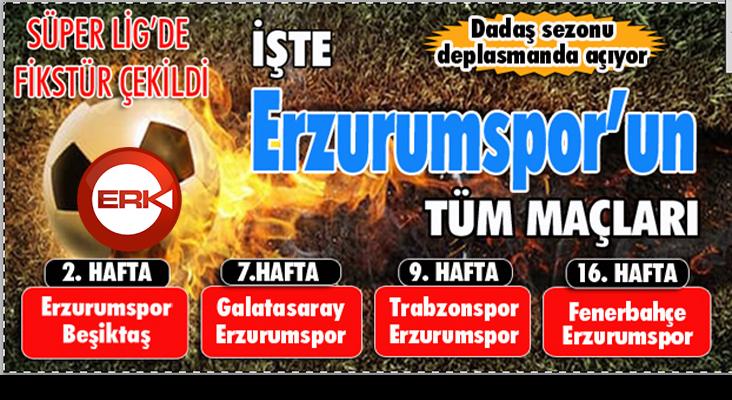 Süper Lig'de fikstür çekildi... Dadaş sezonu Konya deplasmanında açıyor...