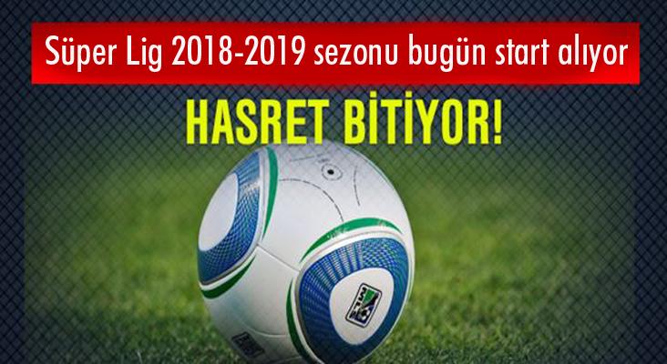 Süper Lig'in 61. sezonu başlıyor