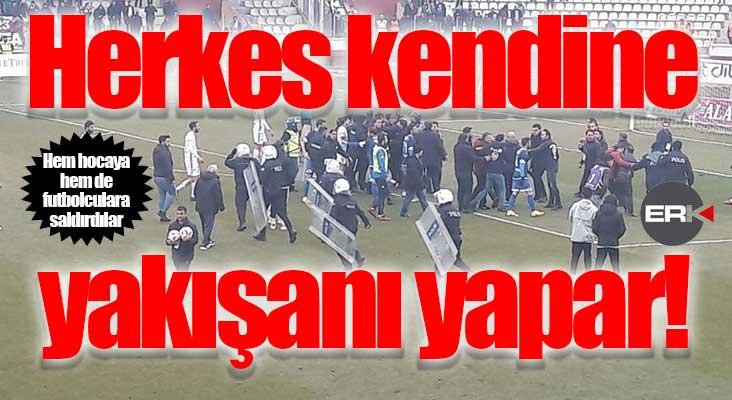 Yazıklar olsun Elazığ yönetimi! Yöneticilerden sonra hoca ve futbolculara da saldırdılar!