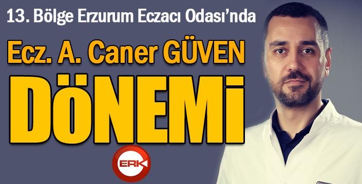 13. Bölge Erzurum Eczacı Odası Başkanlığına Ecz. A. Caner Güven seçildi...