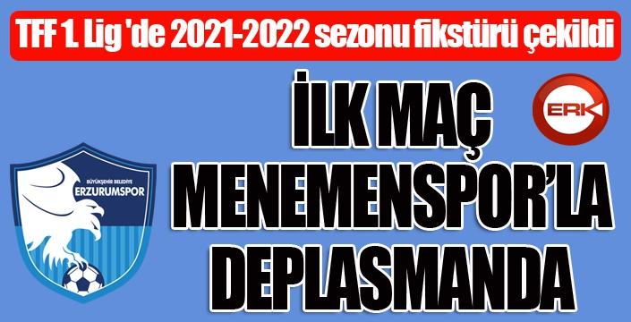 TFF 1. Lig 'de 2021-2022 sezonu fikstürü çekildi
