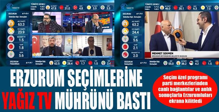 Adaylar seçim sonrası ilk açıklamayı Yağız TV'ye yaptı...