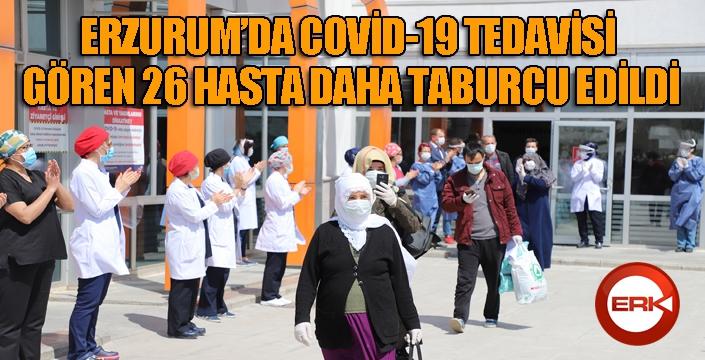 Araştırma Hastanesi 26 kişiyi daha taburcu etti