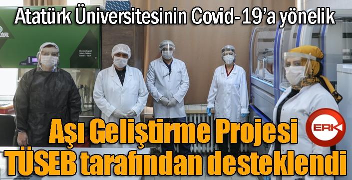 Aşı Geliştirme Projesi TÜSEB tarafından desteklendi