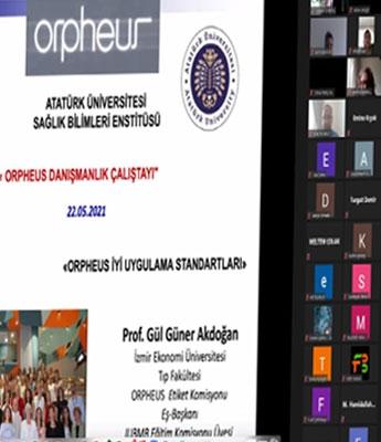Atatürk Üniversitesi'nde Orpheus Danışmanlık Çalıştayı düzenlendi