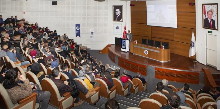 Atatürk Üniversitesi'nde Ortadoğu ve Suriye'nin durumu konuşuldu