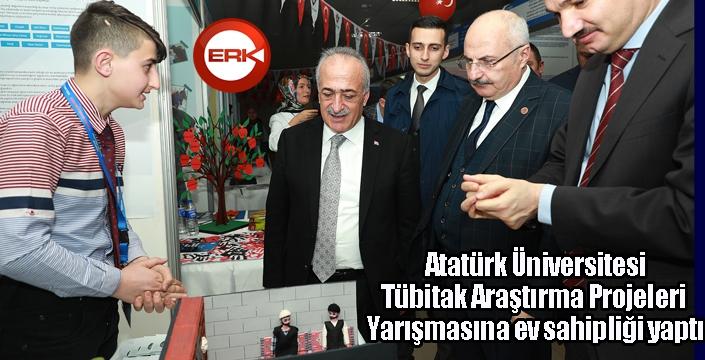 Atatürk Üniversitesi, Tübitak Araştırma Projeleri Yarışmasına ev sahipliği yaptı