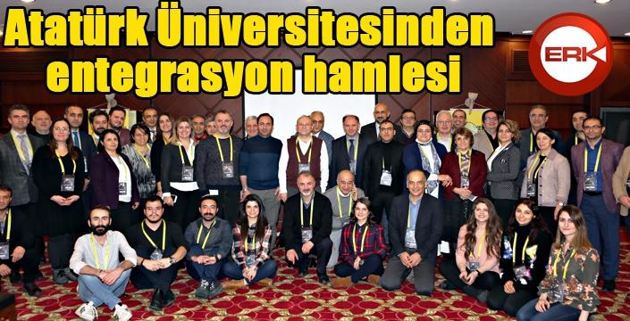 Atatürk Üniversitesinden entegrasyon hamlesi