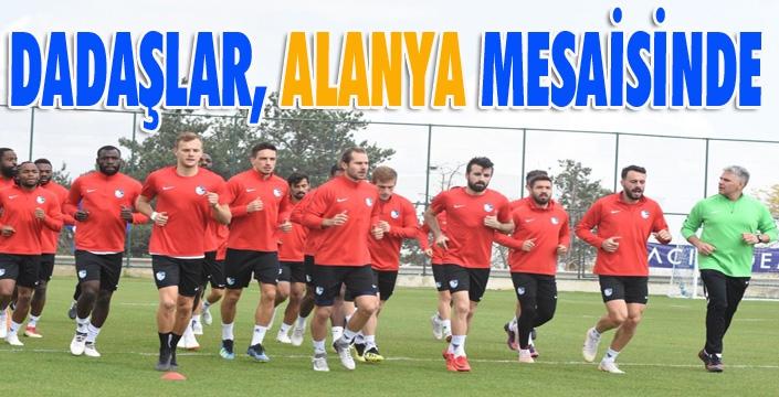 B.B. Erzurumspor'da Aytemiz Alanyaspor mesaisi