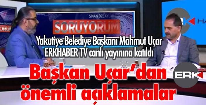 Başkan Uçar, ERKHABER TV'ye konuk oldu