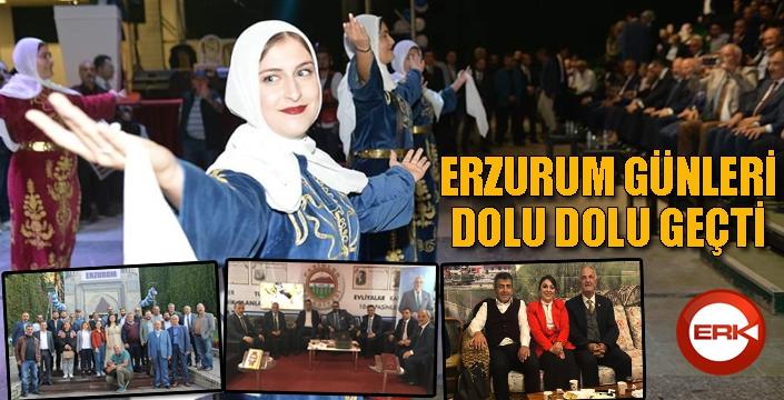 Başkent'te Erzurum Günleri dolu dolu geçti...