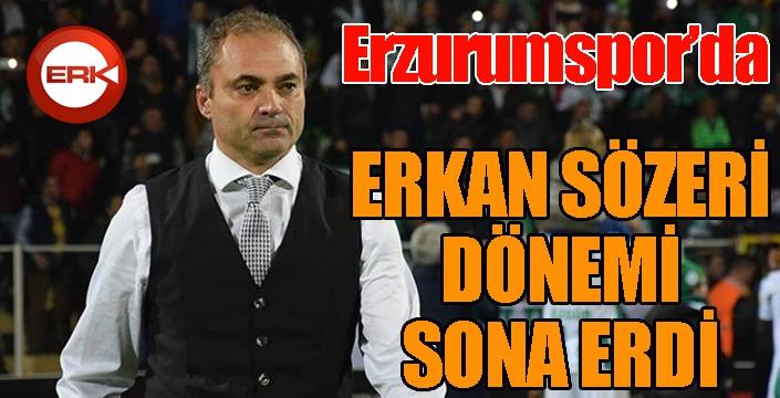 BB Erzurumspor'da Erkan Sözeri dönemi sona erdi