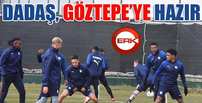 BB Erzurumspor, Göztepe maçı hazırlıklarını tamamladı