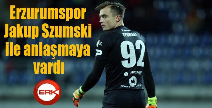 BB Erzurumspor Jakup Szumski ile anlaşmaya vardı