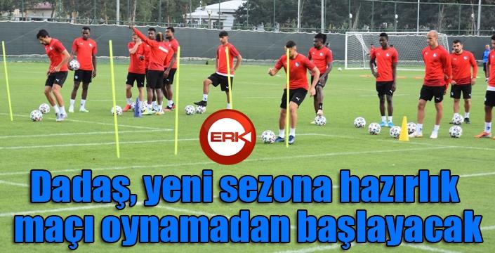 BB Erzurumspor yeni sezona hazırlık maçı oynamadan başlayacak