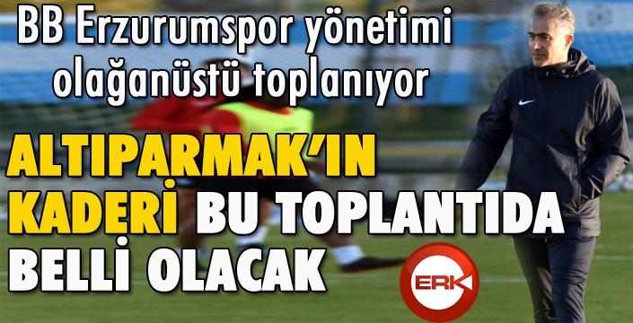BB Erzurumspor yönetimi olağanüstü toplanıyor