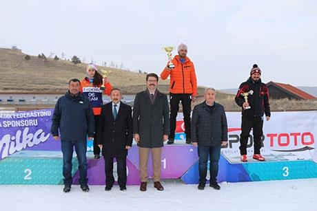 Biatlon Türkiye Şampiyonası sona erdi