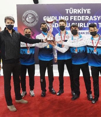 Curlingte Anadolu KupasıErzurum'un