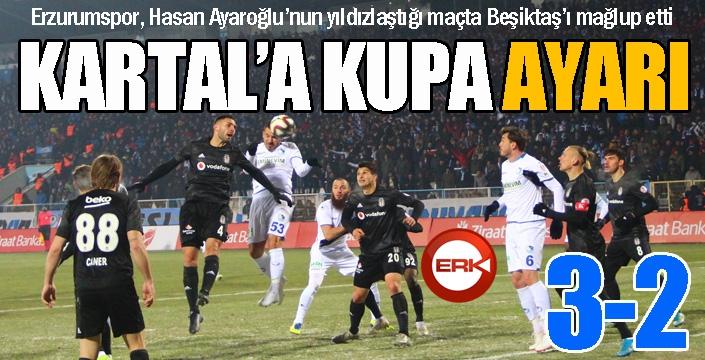 Dadaş'tan Beşiktaş'a kupa ayarı...
