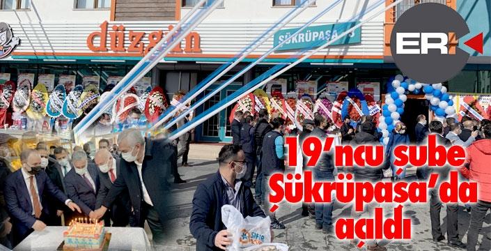 Düzgün Market'in 19'ncu şubesi açıldı